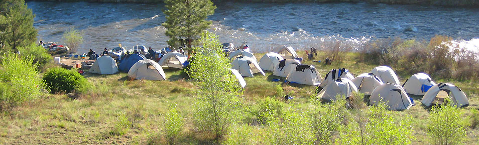 Overnight rafting trips on the Arkansas River provide the ultimate Colorado experience.