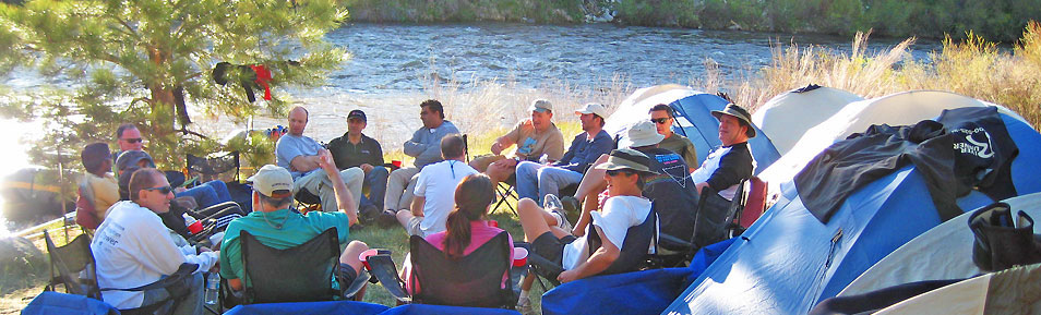 Overnight whitewater rafting trip on the Arkansas River in Buena Vista, Colorado.