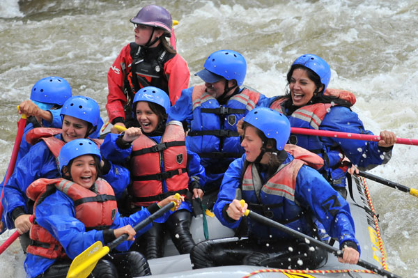 Rafting is a fun thing to do in Colorado
