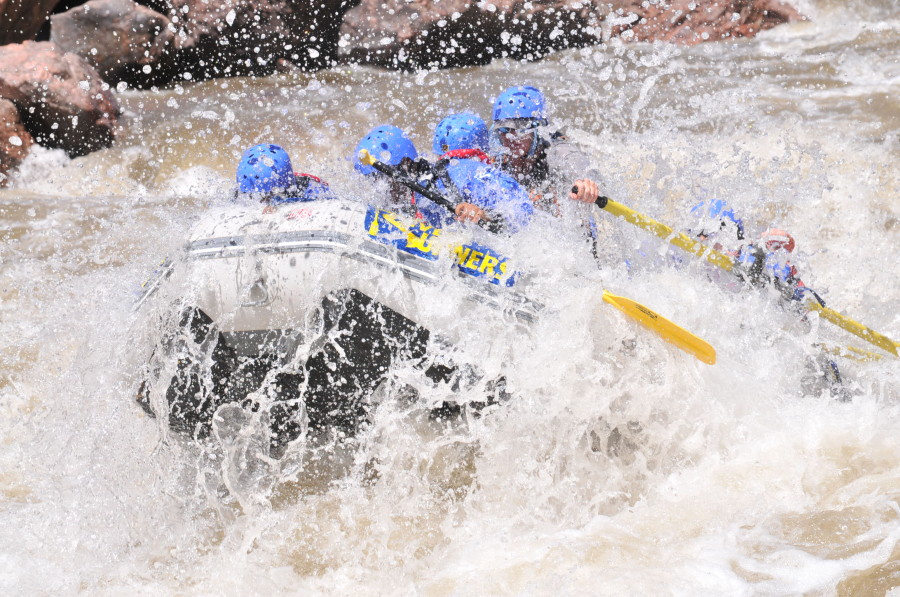 River Rafting in Colorado