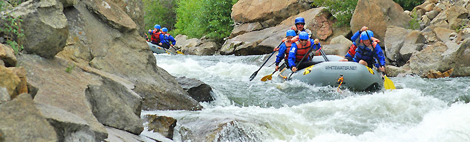 Arkansas River Whitewater Rafting | Two locations near