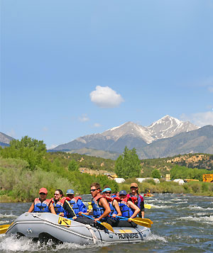 Colorado White water Rafting Vacation