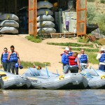 Colorado white water rafting trips for groups