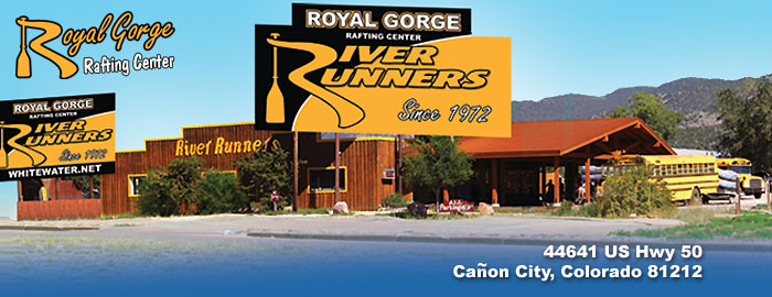 Royal Gorge Rafting Center 44641 US Hwy 50 Canon City, Colorado 812112
