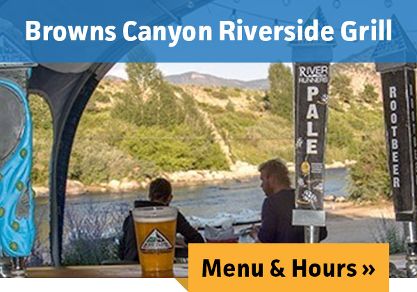 Browns Canyon Riverside Grill - MENU & HOURS