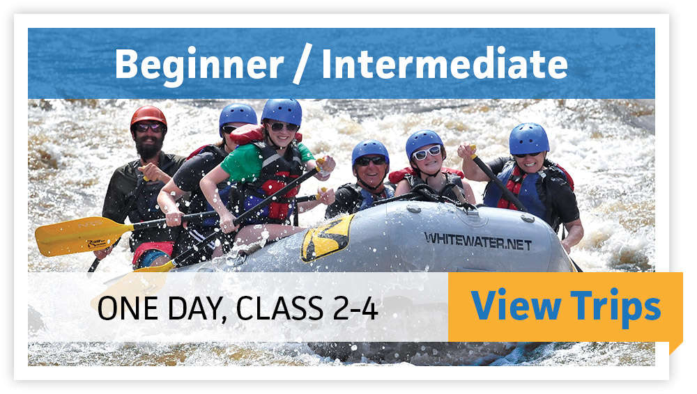 Beginner/Intermidiate - One Day, Class 2-4 - VIEW TRIPS
