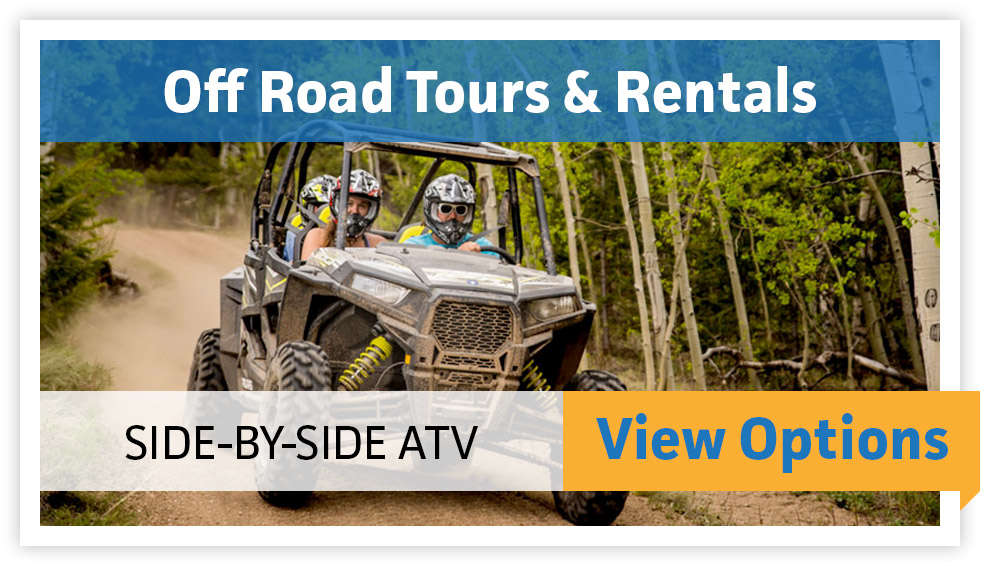 Off Road Tours & Rentals - Side-By-Side ATV - VIEW OPTIONS