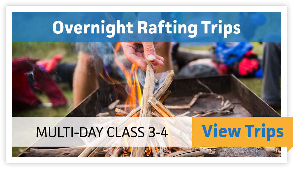 Overnight Rafting Trips - Multi Day, Class 3-4 - VIEW TRIPS