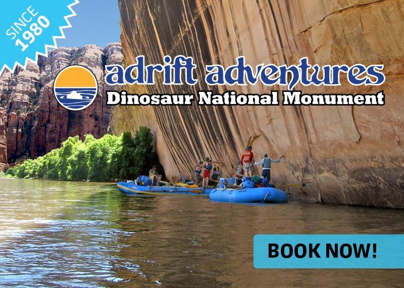 Dinosaur National Monument Rafting Adrift Adventures