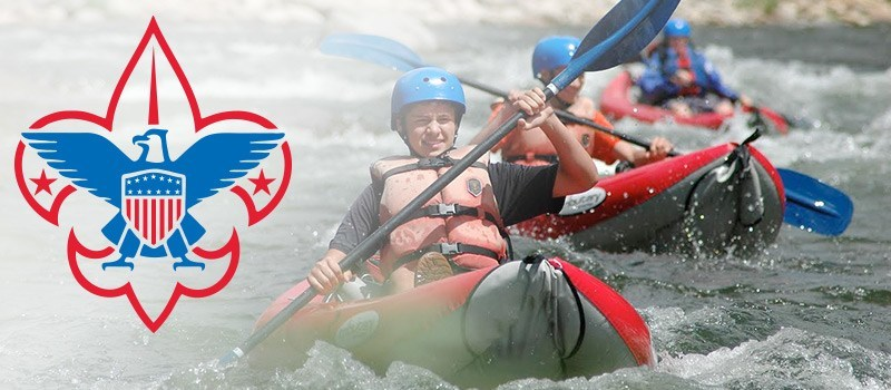 Boy Scout Whitewater & Kayaking Merit Badge