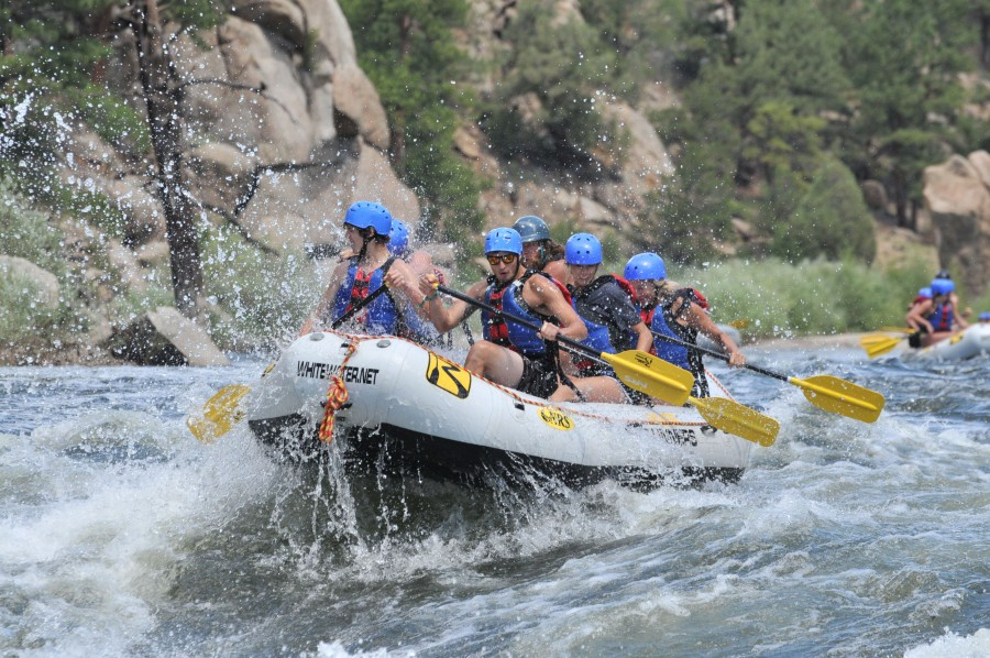 Rafting Browns Canyon National Monument