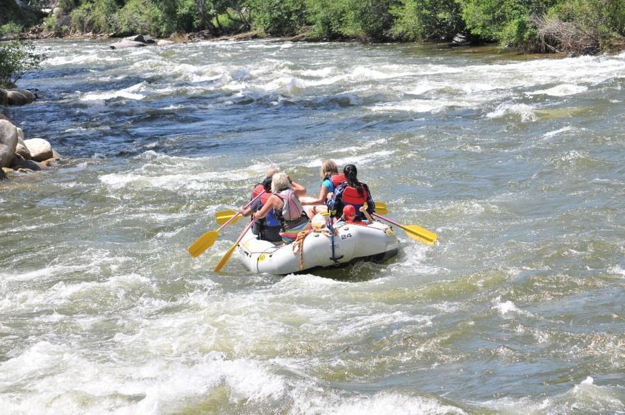 Family Float Rafting Trips in Colorado.