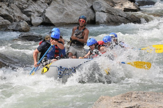 Final day of 2015 rafting season in buena vista colorado for Water salida trasera