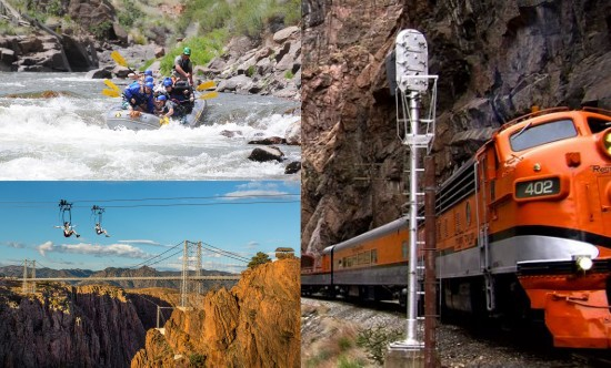 Colorado adventure packages at the Royal Gorge.
