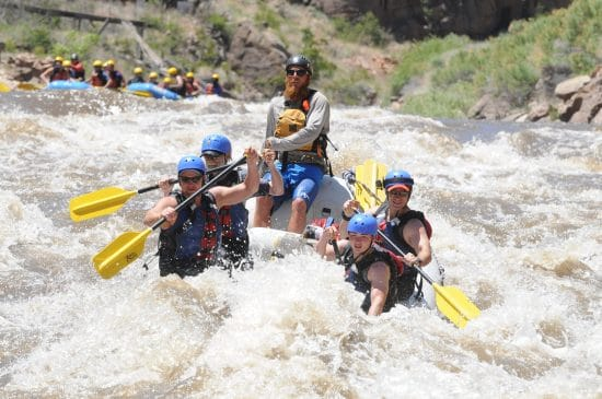 Royal Gorge Rafting.