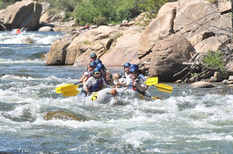 Happy Hour Raft Trip.