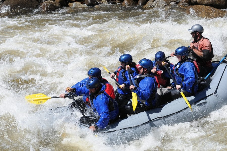 High Water Numbers rafting trips.