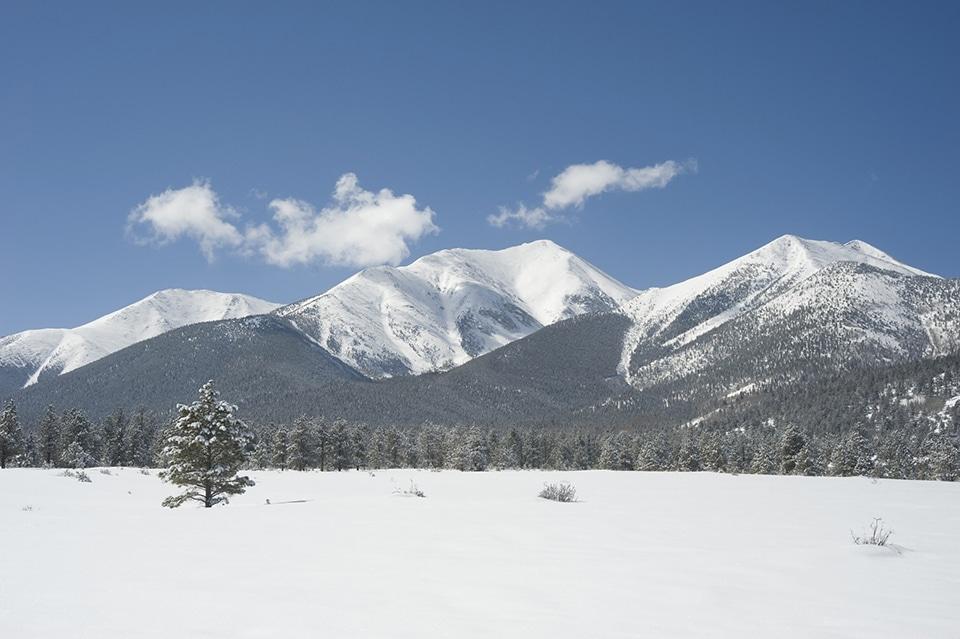 Mount Princeton near Buena Vista, Colorado.