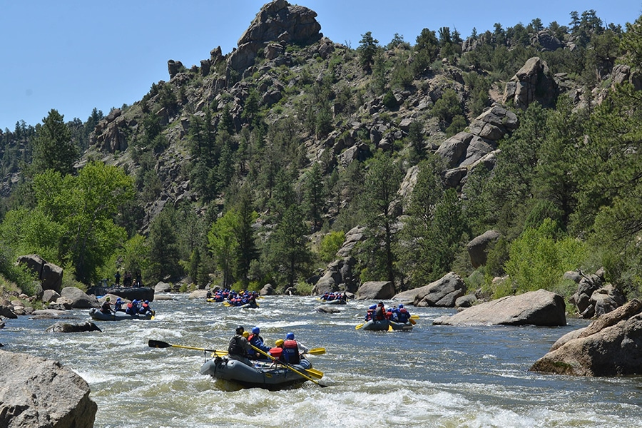 Arkansas River Rafting Conditions