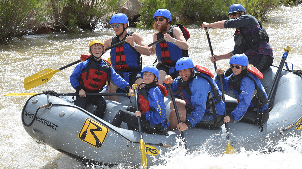 Whitewater Rafting Conditions Update and Rafting Sale